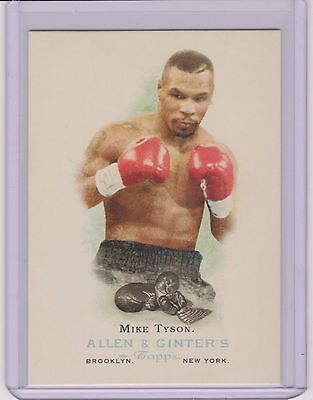 """Rare 2006 Allen & Ginter """"iron"""" Mike Tyson Boxing Card #301  Multiples Available"""