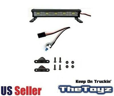 XP 5-LED Aluminum Blinding Light Bar (89mm) for RC's by The Toyz TOYZ 675