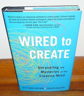 WIRED TO CREATE-Unraveling the Mysteries of Creative Mind-BRAND NEW 1st HC w/DJ!