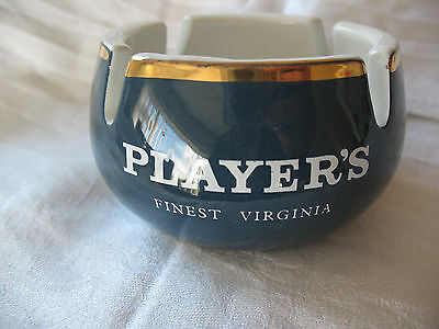 Old vintage T G Green ashtray advertising PLAYER'S Finest Virginia tobacco