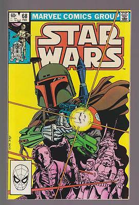 Star Wars # 68  Reintro Boba Fett the Bounty Hunter !  grade 8.5 scarce book !