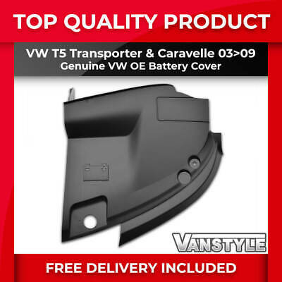 Vw T5 Transporter & Caravelle 2003-2009 Genuine Vw Oe Engine Battery Cover Trim