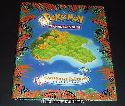 Complete SOUTHERN ISLANDS w/ Binder 18 Card Set EX-NEAR MINT Pokemon