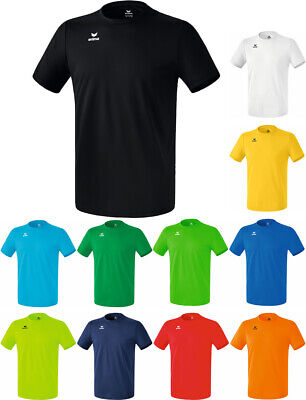 Erima T-Shirt Funktions Teamsport T-Shirt alle Größen Kinder Herren Damen