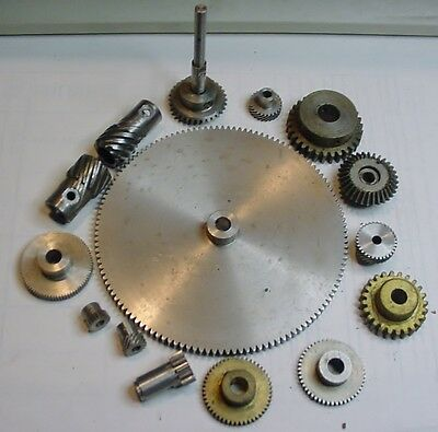 PIC Design Standard Spur Gears Batch of Stainless & brass gears wt 3 only Brand