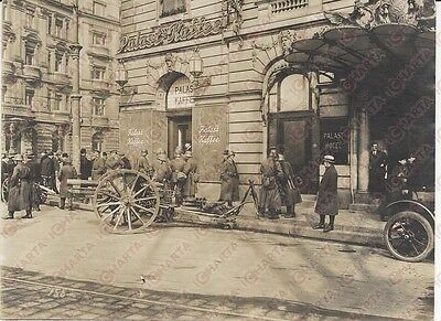 1920 KAPP PUTSCH REVOLUTION  Berlin Potsdamer Platz *REAL PHOTO cm 16x12