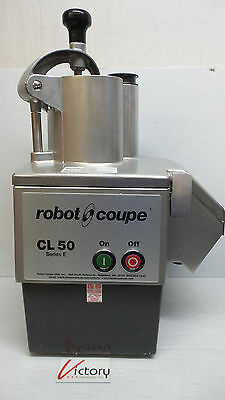 New Robot Coupe Model: CL50E Vegetable Food Processor Preparation Machine