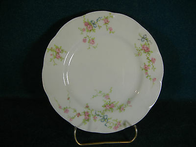 """Theodore Haviland Rosanne Gold Trim 6 3/8"""" Bread and Butter Plate(s)"""