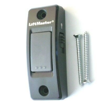 LiftMaster 883LM Security+ 2.0 And MyQ Garage Door Wall Button With Light Switch
