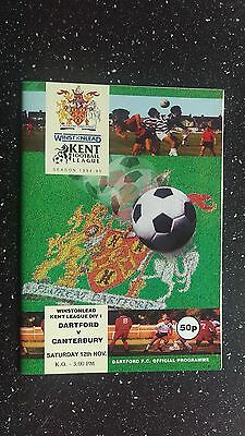 Dartford V Canterbury 1994-95.