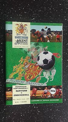 Dartford V Crockenhill 1994-95