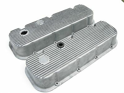 "Vintage ""no M/t Logo"" Mickey Thompson Valve Covers Bbc 396 427 454 Chevy"