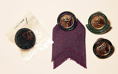 Vintage American Royal Horse Show Equestrian Enameled Pin Badges Group of 4 #6