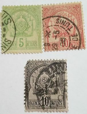 Tunisia   1888 Early Issue Used Stamps.....worldwide Stamps