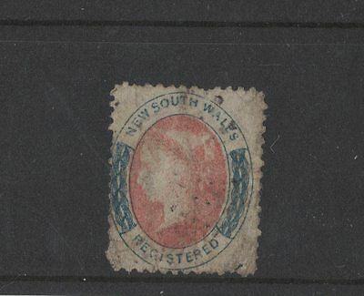 1856 Australia NSW used with faults