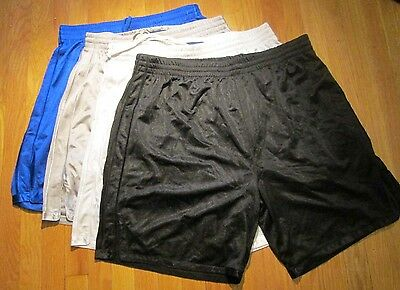 100 PC Jogging Shorts 100% Polyester S-2XL Heavy Weight 2 pocket Classic