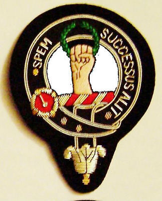 Royal Scottish Scotland Clan Ross Highland Heraldry Crest Family Name COA Patch