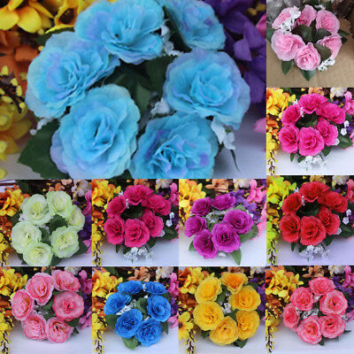 Candle Rings Silk Wedding Handmade Flower Rose Tabletop Centerpieces Unity Gifts