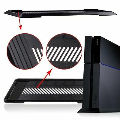 Stand Holder Base pour SONY PS4 PlayStation 4 Noir