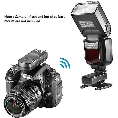 Neewer 2.4G Wireless Remote Flash Trigger Transceiver Pair for Nikon D7200 D5100