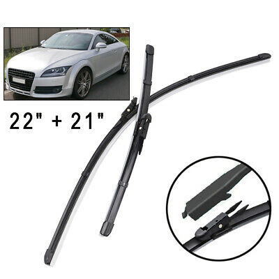 "Aero Flat Multi Fit Front Wipers Windscreen Wiper Blades Pair//Set 20/"" 14/"""
