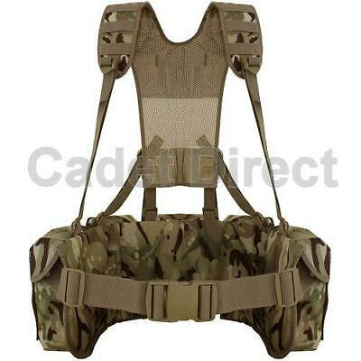 Kammo Tactical MTP Airbourne Webbing Set with FREE Web Dominators