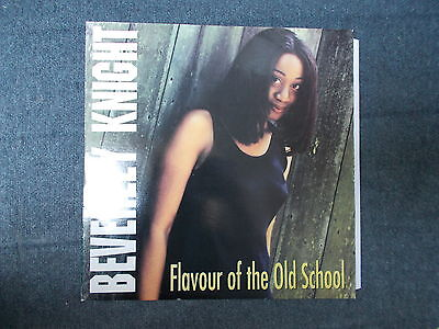 """Beverley Knight Flavour Of The Old School 12"""" Dome Records 1995"""