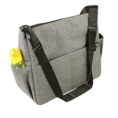 New Red Kite Change Me Messenger Changing Bag Maternity Baby Nappy Bag Grey