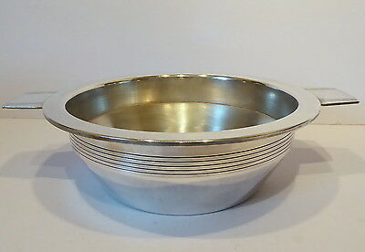 Vintage Walker and Hall Art Deco Style Silver Plate Twin Handle Dish/Bowl
