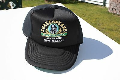 Ball Cap Hat - Shakespeare Brewery - Auckland New Zealand Beer (H1736)