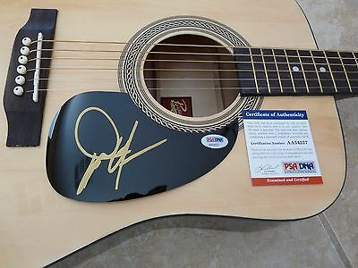 Dwight Yoakam IP Signed Autographed Acoustic Guitar Country Music PSA Certified