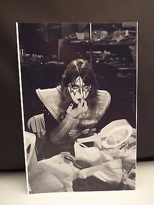 Kiss 1977 LA Forum Ace Frehley Backstage 8x12 Photo #19 From Original Negative