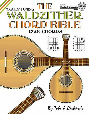 Waldzither Chord Bible 1,728 Chords!!! Cittern New Title!