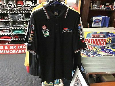 Holden Kmart Racing Polo Size Large Fully Embroidered In Excellent Condition