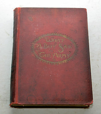 What A Boy Saw in the Army by Jesse Bowman Young, Hunt & Eaton 1894 Civil War
