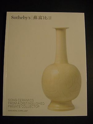 Sothebys 2017 Hong Kong April 5  Chinese Song  Ceramics Auction Private Collecti