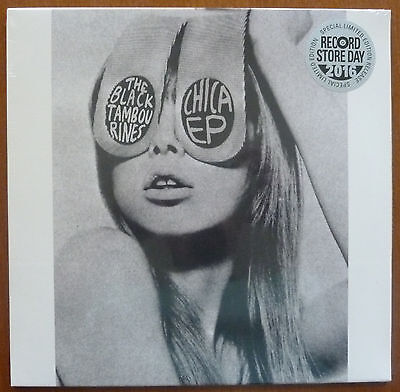 "Black Tambourines 10"" Ep..chica Ep..rsd2016..mint Sealed"