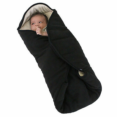 New Red Kite Baby Snug Wrap Pushchair Stroller Buggy Footmuff Coseytoes Black
