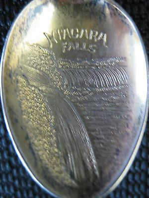 Sterling Collector Spoon - NIAGARA FALLS      (7278)