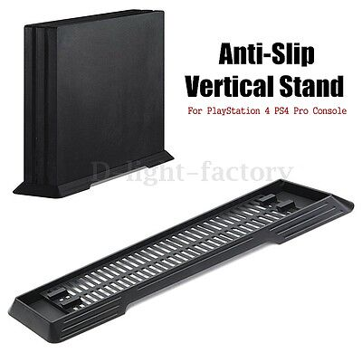 Anti-Slip Vertical Stand Dock Bracket Holder For PlayStation 4 PS4 Pro Console