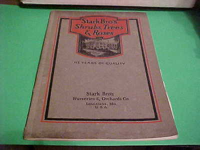 1927 Stark Bro's Brothers Shrubs Trees Roses Nursery Catalog/book Picture Galore