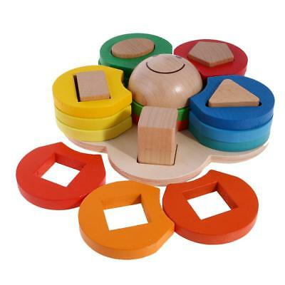 Baby Educational Kids Children Intellectual Developmental Wooden Toys Gifts