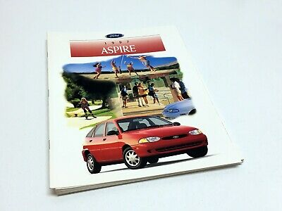 1997 Ford Aspire Brochure