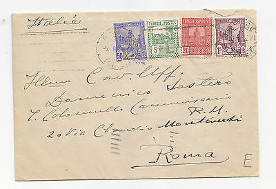 J64-Tunisie-Cover To Italy 1938
