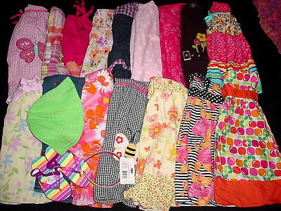 USED BABY TODDLER GIRL 5T 6T SPRING SUMMER CLOTHES LOT FreeShipping