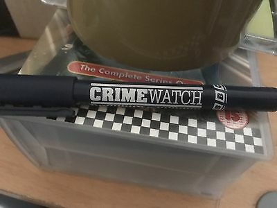 Rare Crimewatch UK Pen - BBC - works but collectable value