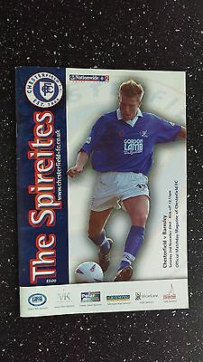 Chesterfield V Barnsley 2002-03