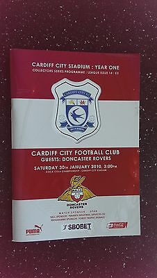 Cardiff City V Doncaster Rovers 2009-10,