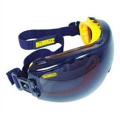 DeWalt Safety Glasses Goggles Concealer Smoke AF Lens