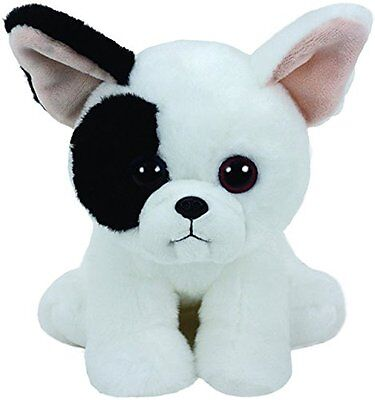 TY Beanie Boo Plush - Marcel The Black & White Dog 15cm